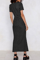 Scoop Polka Dot Dress