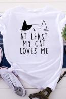Scoop Print T-shirt
