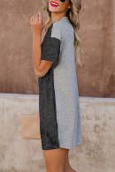 Sequins T-shirt Dress
