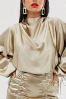 Sexy Drawstring Shirred Dress