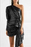 Sexy One Shoulder Mini Dress