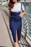 Sleeveless Solid Split Dress