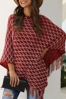 Solid Tassel Kit Sweater