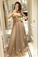 Sequin Spaghetti Straps Dress