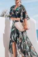 Print Chiffon Long Dress