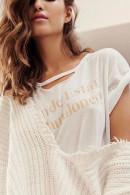 Tassel V-Neck Knit Sweater