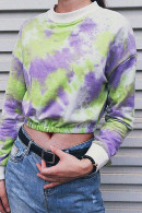 Tie-Dye Scoop Sweatshirt