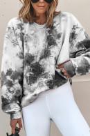 Tie Dye Scoop Sweatshirt