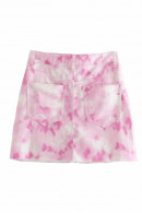 Tie Dye Zipper Skirt