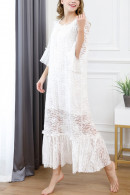 Two-tier Lace Night Dress