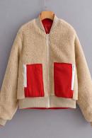 Two Tone ReversibleTeddy Coat