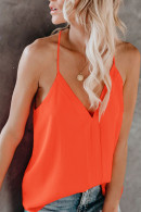 V-Neck Spaghetti Straps Top