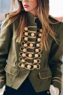 Vintage Button Up Coat