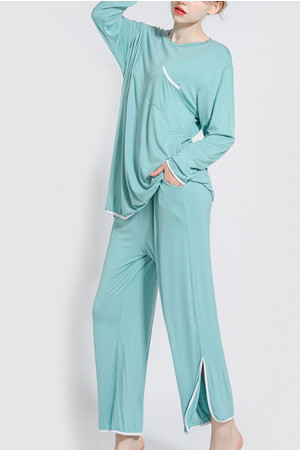 Loose PJ Set With Pocket