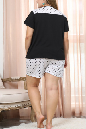 Polka Dot Shorts PJ Set