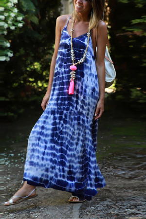 Print Tie Dye Cami Dress