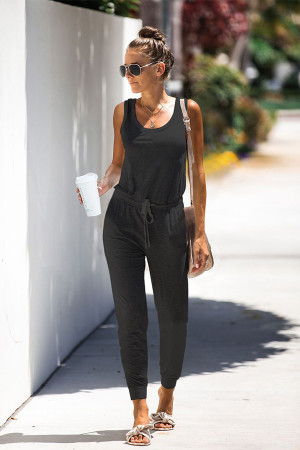 Sleeveless Casual Jumpsuit