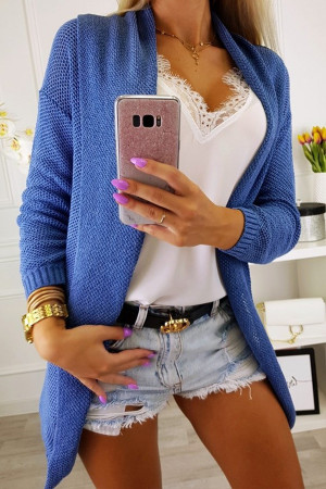 Solid Color Casual Cardigan