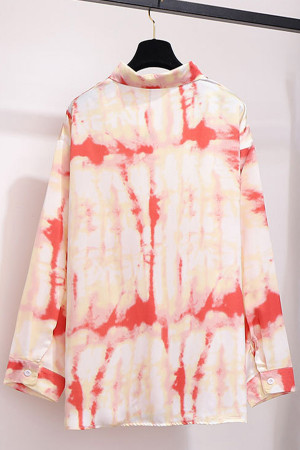 Tie Dye Plus Size Shirt